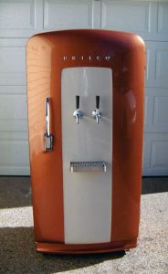 Vintage Fridge & Kegerator