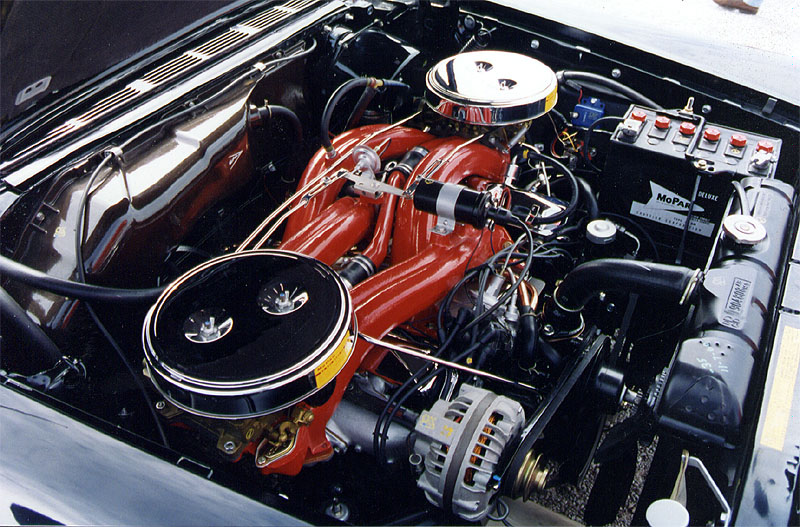 61 Chrysler 300 Engine
